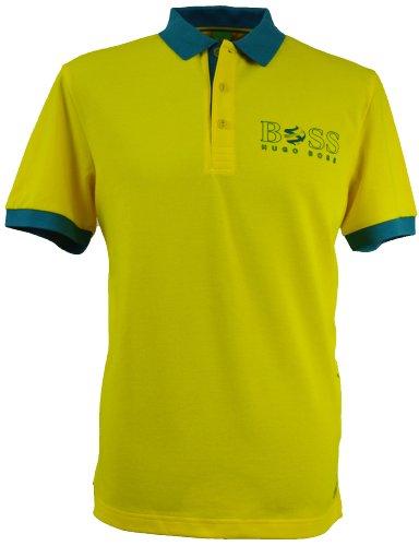 BOSS Hugo Polo - Homme Jaune Yellow/Green - Jaune - Yellow/Green - Large