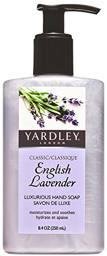 Yardley London English Lavender Hand Soap, 2484.18 ml  available at amazon for Rs.1129