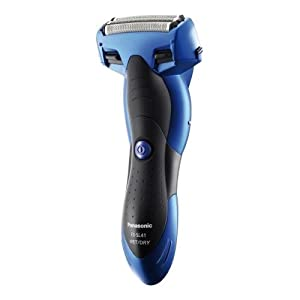 Panasonic ES-SL41 Blue Wet and Dry Electric 3-Blade Shaver for Men