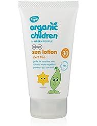 Green People Bio enfant Lotion solaire SPF30sans parfum 150ml ()