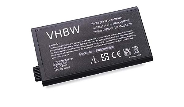 Vhbw Li Ion Akku 4400mah Für Notebook Laptop Uniwill Computer Zubehör