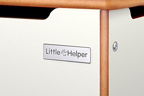 Little Helper NB/tty01 – 3 WG baúl grande de madera Room Tidy, wei
