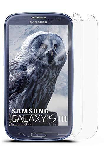 2X Samsung Galaxy S3 | Schutzfolie Matt Bildschirm Schutz [Anti-Reflex] Screen Protector Fingerprint Handy-Folie Matte Bildschirmschutz-Folie für Samsung Galaxy S3 / S III Neo Bildschirmfolie