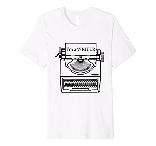 I'm A Writer T Shirt Vintage Typewriter