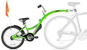 WeeRide grün Co Pilot - Befestigtes Fahrrad [anhänger, Anker, 51 cm