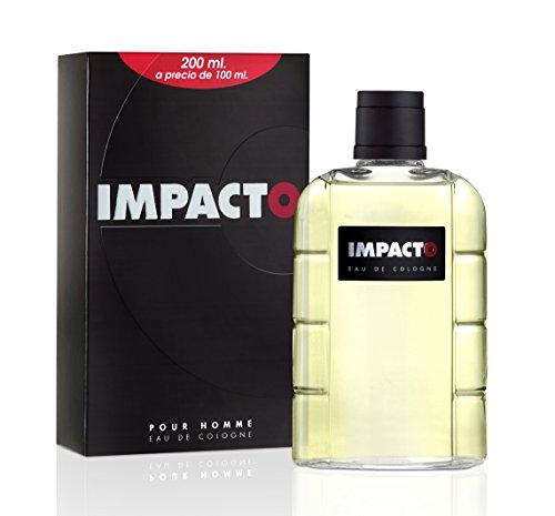 Impacto, Agua de colonia para hombre, 200ml (precio: 9,85€)