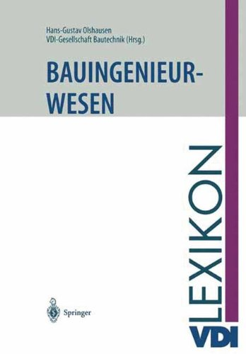 VDI-Lexikon Bauingenieurwesen (VDI-Buch)