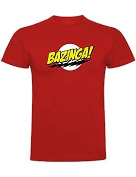 Camiseta de The Big Bang Theory Sheldon Cooper Penny Bazinga Mujer
