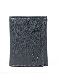 U.S. Polo Assn. Black Mens Wallet (USAW0490)