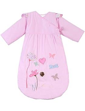 Missfly Unisex Baby Schlafsack Kinderschlafsack mit Abnehmbaren Ärmeln Winter Cartoo Tier Design