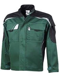 PKA Bund-Jacke Arbeits-Jacke bestwork NEW - 300 g/m² - grün/schwarz
