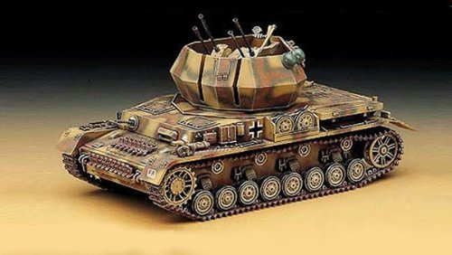 1/35 Flakpanzer Iv Wirbelwind 1333 (13236) - Plastic Model Kit by Academy Models by Academy Models