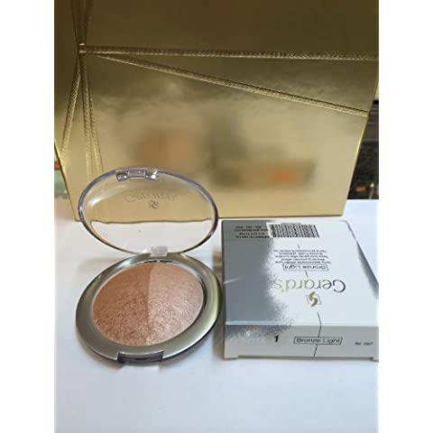 Gerard's Baked Bronzing Powder Effect - 1 - by (Baked Bronzing Powder)