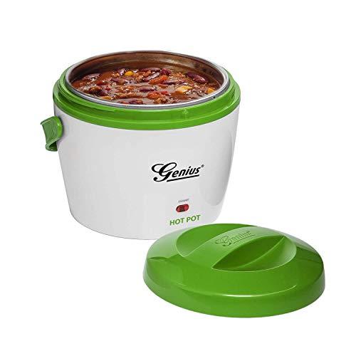 Genius Hot Pot Warmhaltebox für Essen | Warmhaltebehälter für Speisen | Thermoschüssel mit Deckel | Thermobox