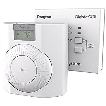 worcester dt20rf digistat digital wireless thermostat. Black Bedroom Furniture Sets. Home Design Ideas
