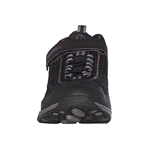 Merrell Light Tech Hike Mid Ac Waterproof, Chaussures de Randonnée Hautes fille Black