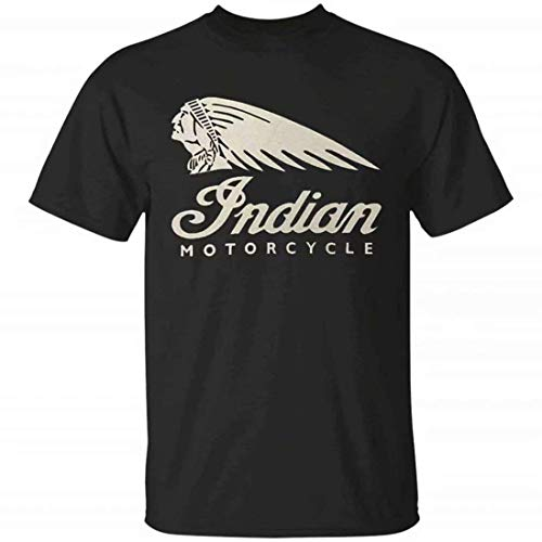 Indian Motorcycle Generic Gift Tee,Funny Fashionable Style Crew Neck T-Shirt for Men Women M - Indian Motorcycle T-shirt