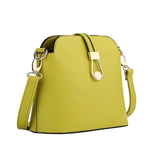 YipGrace Ms. Messenger Bag/Sacchetto Di Colore Della Caramella Moda Giapponese E Coreano/Pacchetto Di Shell Mini/Borsa A Tracolla Verde