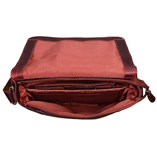88b321dff8f514 STILORD 'Matthias' Borsello in pelle Borsa a tracolla da uomo in cuoio  vintage Piccola borsa messenger porta tablet e iPad da 10.1 pollici di vera  pelle, ...