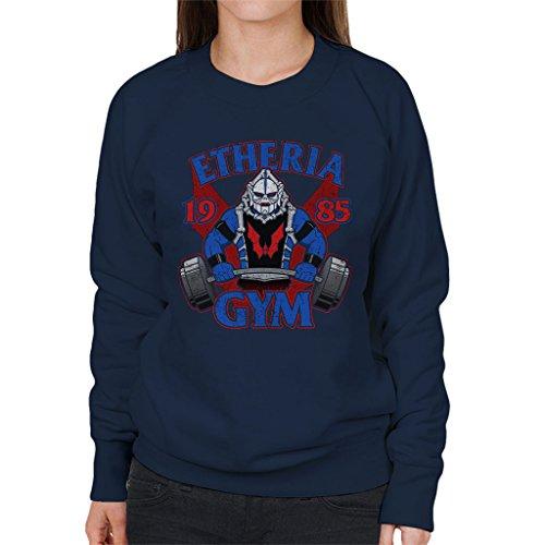 Hordak Etheria Gym She Ra Womens Sweatshirt Navy blue