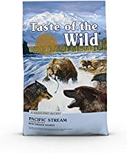Taste of the Wild Dog Food Pacific Stream Adult - Smoked Salmon, Brown, 12.7 Kg