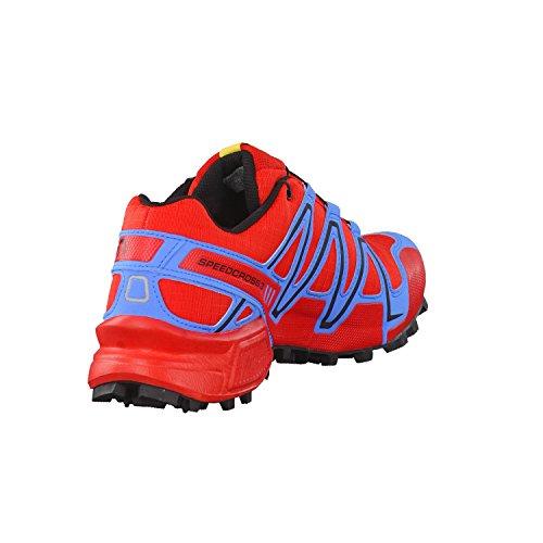 Salomon Speedcross 3 Gtx Damen Trail Runnins Sneakers radiant red-prcess blue-black
