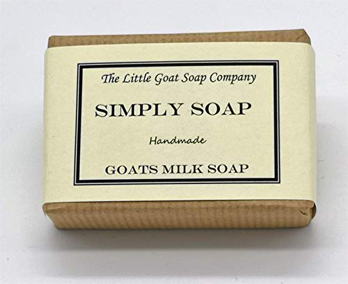 1 x Simply Goats Milk Soap. Unscented 100g. Sensitive Skin. Eczema, Psoriasis, Dermatitis. Dry Skin
