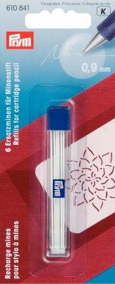 Prym Refills for Cartridge Pencil, White