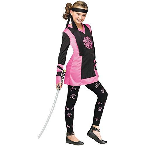 Unbekannt Fun World Ninja-Kostüm Drache Größe S