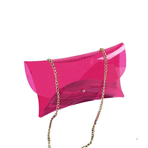 MOGOR, Borsa a tracolla donna rosso Rose Red medium Rose Red
