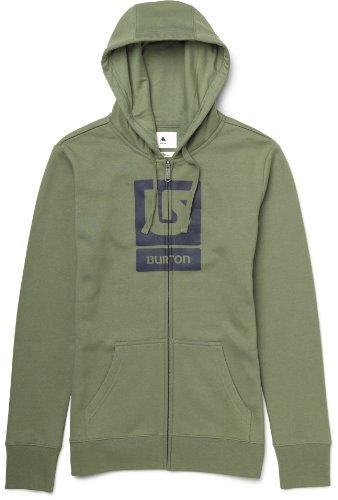 burton-logo-hng-high-felpa-da-donna-con-cerniera-e-cappuccio-verde-terriccio-34-36