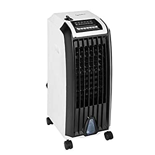 Signature S40004N 4-in-1, Cooler, Air Purifier, Humidifier and Heater, 3 Airflow Settings, Normal, Natural and Sleep, 12 Hours Timer, Remote Control Included, White/Black