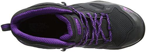 The North Face Hedgehog Fastpack Mid Gore-Tex (EU), Chaussures de Randonnée Hautes Femme Gris (Dark Shadow Grey/violet Tulle)