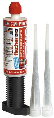 Fischer Multifunktionsmörtel 100 P K, Inhalt: 1 Kartusche FIS VS (100 ml), 2 x Statikmischer, 502495