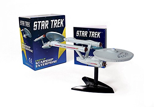 Star Trek: Light-up Starship Enterprise (Running Press Mini Kits) por Carter Chip