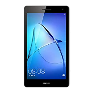 "Huawei Mediapad T3 7 Tablet 3G, Display da 7"", CPU MT8127 Quad Core A7 1.3GHz, RAM 1 GB, ROM 8 GB, Android, Grigio (Space Gray)"