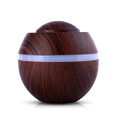 Xshuai Luft Aroma Luftbefeuchter 500ml USB Ultraschall LED 7 Farbwechsel Ätherisches Öl Diffusor Portable für Babys Kinder Haus Beauty Salon, Yoga, Spa, Auto, Büro oder zu Hause, im Wohnzimmer oder Schlafzimmer (A) (Kinder-luftbefeuchter Für Zu Hause)