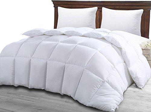 4 Jahreszeiten Bettdecke, Quilted Steppdecke, Ultra Plüsh Hypoallergen, Silikon Faserfüllung, Premium Steppdecke Von Utopia Bedding (Weiß,135 x 200 cm)