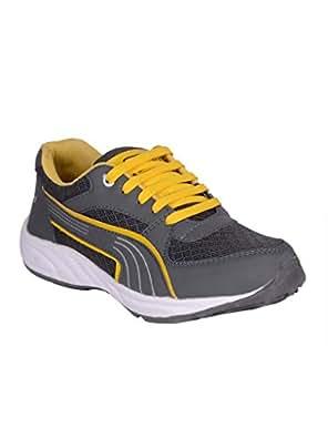 Jokatoo Men's Grey Running Shoes
