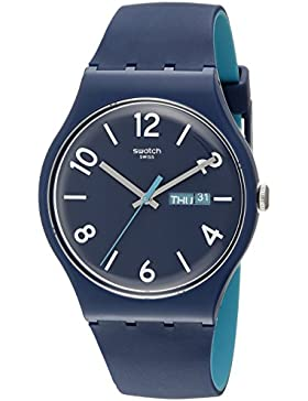 Swatch Quarzuhr Unisex Backup Blue  41 mm