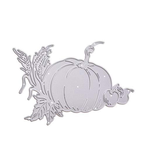 lone Vorlage für Album Scrapbooking Papier Karte Art Craft Decor (Halloween Kürbis) ()