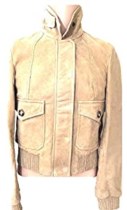 "Ladies Burberry Brit ""Ampford"" Suede Leather Jacket UK 10 US 6 RRP £995"
