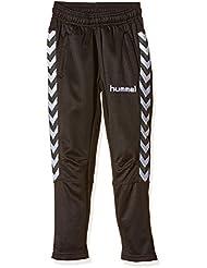 Hummel Stay Authentic - Pantalones infantiles de fútbol, todo el año, infantil, color Negro - negro, tamaño 8