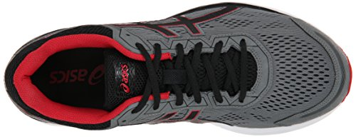 Asics GEL-Fortitude 7 Synthétique Chaussure de Course Mix Grey-Black-Red