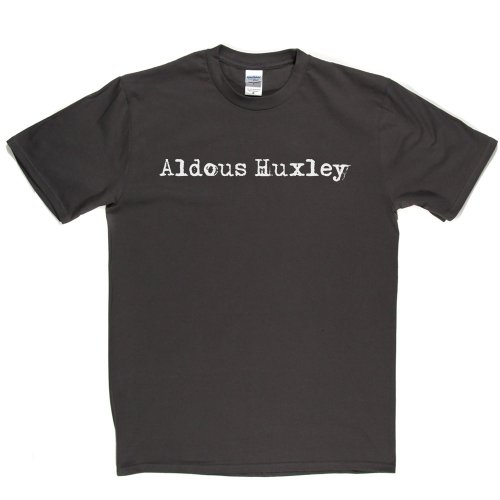 Aldous Huxley English Writer T-shirt Grau