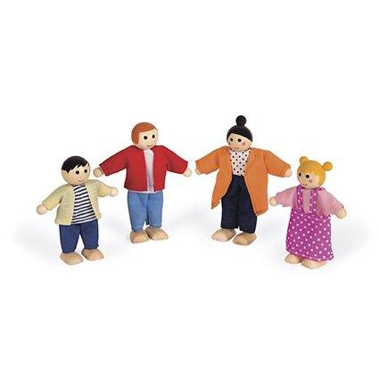 Coffret personnages pour maison de poupées - Janod