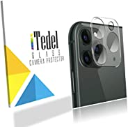 iTedel 3D Camera Lens Protector for iPhone 11 Pro/iPhone 11 Pro Max, HD Clear Tempered Glass 9H Anti-Scratch A