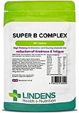 Lindens SUPER Complesso Vitamine B Compresse confezione da 90 UK produttore adatto per vegani e vegetariani