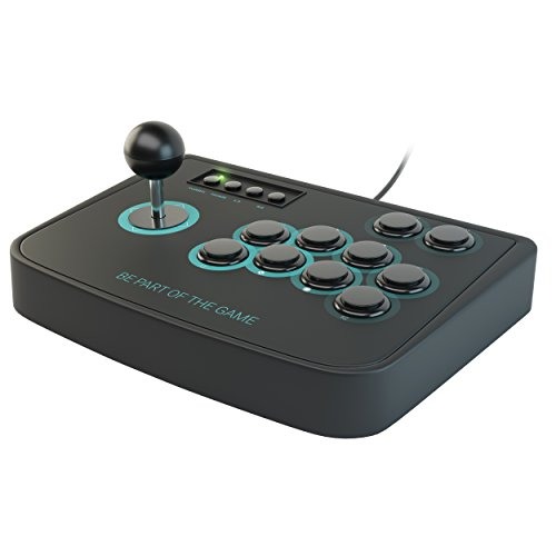 Lioncast Arcade Fighting Stick für PC, PS3, PS2 Controller Joystick