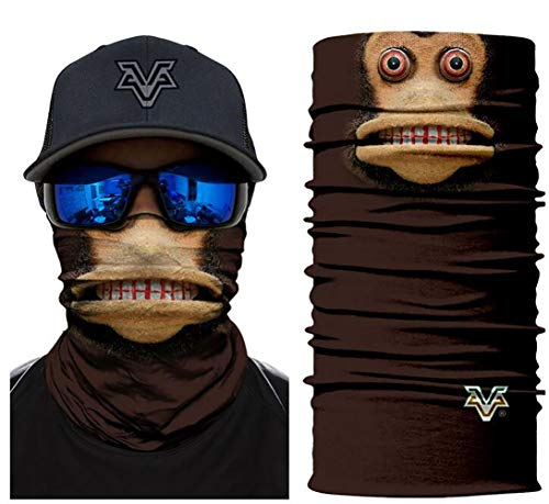 Unbekannt Bandana Tubo del Pirata del Animal de la Venda del pañuelo con el para la Facial Máscara Head,C